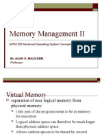 Lecture 4 Memory Management II