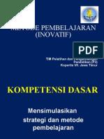 7. Metode Pembelajaran Inovatif
