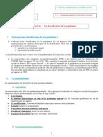 Fiche 112 - La Classification de La Population