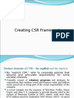 Framework CSR 432015