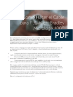Como Hacer El Cable Para PLC Allen