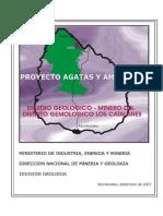 Fase I - Cartografía Geológica y Relevamiento Minero en El Distrito Gemologico Los Catalanes