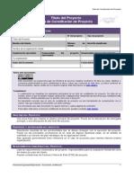 Plantilla Projectcharter v01