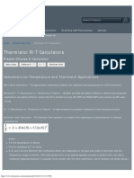 Thermistor R_T Calculators _ QTI Sensing Solutions