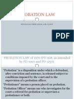 Probation Law