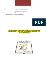Programa Rector Investigacion