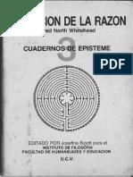 Whitehead Alfred - La Funcion de La Razon
