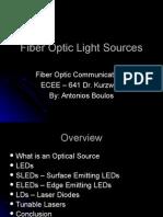 Fiberoptic Light Sources