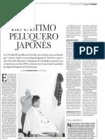 El último peluquero japonés en Lima