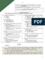 Testediagnstico72013 2014portugus 130925155351 Phpapp02