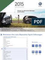 Catalogue Entretien VW 2015