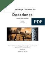 Decadence Narrative Design Document EN