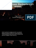 Notable Power Blackouts in US History