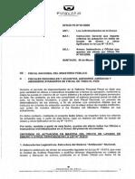 Oficio Fiscal Nacional 161 2009