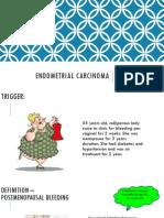 Endometrial CA