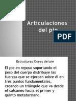9.- Articulacion Del Pie