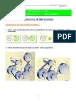 Ejercicios Mecanismos 2 Eso 2014-15