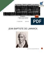Jean Baptiste de Lemarck