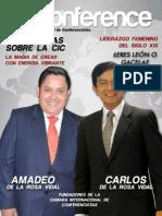 Revista CICONFERENCE 001 - Cámara Internacional de Conferencistas