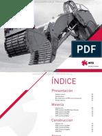 Catalogo Sistemas Proteccion Piezas Desgaste Maquinaria Mineria Construccion Mtg