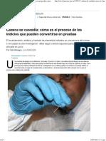 Arto1-Cadena de Custodia- Proceso Indicios Convertirse Pruebas