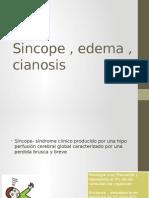 02 Sincope, Edema y Cianosis de Origen c