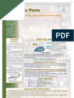 Peifer Spring 2010 Sportsmen Newsletter