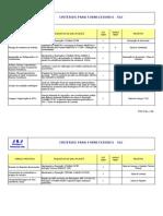 Criterios Para Fornecedores Sgi.