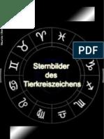 Sternbilder Des Tierkreiszeichens