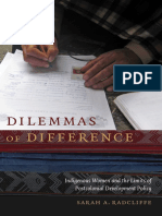 Dilemmas of Difference by Sarah A. Radcliffe