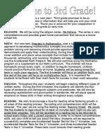 parent newsletter 2015
