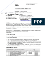 Silabos Estatica Minas 2015-II