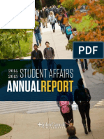 JCU Student Affairs Annual Report