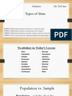 ppt - day 4 - types of data