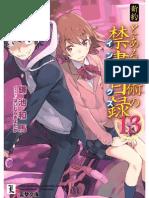 Toaru Majutsu No Index - New Testament 13