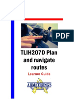 TLIH207D - Plan and Navigate Routes - Learner Guide