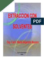 Extraccion Con Solventes