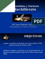 Lg-lengua y Literatura 2º Bach