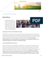 Bandhas _ 3HO Foundation