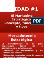 UNIDAD 1 Marketing Estratégico