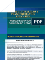 Interculturalidad y Transformacion Educativa