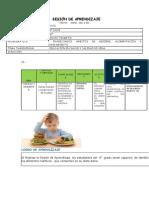 SESIÓN DE APRENDIZAJE sobre ALIMENTOS 6to G.docx