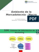 SIM y Ambiente Externo de La Mercadotecnia