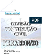 Apostila Policarbonato Parte 1