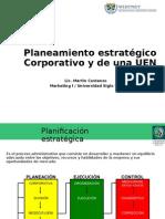 Planeamiento Estratégico Corporativo y de Una UEN
