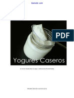 Libro Yogures Caseros