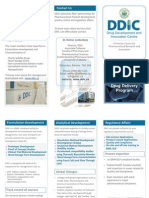 DDIC Pharma Services Brochure 2010