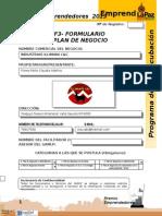 F3 - Plan de Negocios PE 2013 - Copia