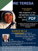 Máximas de La Madre Teresa