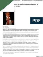 28-08-15 PAN Frena Ratificación de Basáñez Como Embajador de México en Estados Unidos
